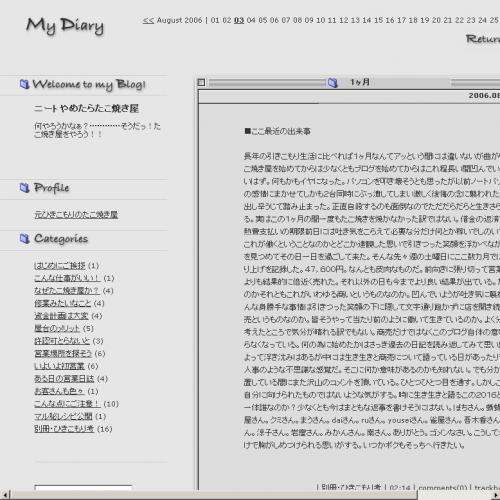 テンプレート「MacOS9風」