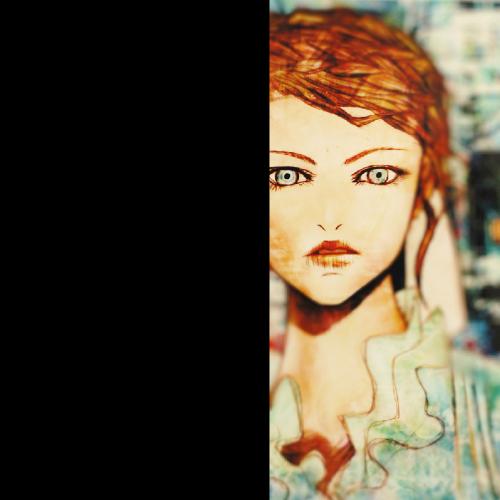 テンプレート「怖い女」