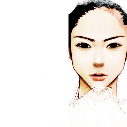 テンプレート「白い女」